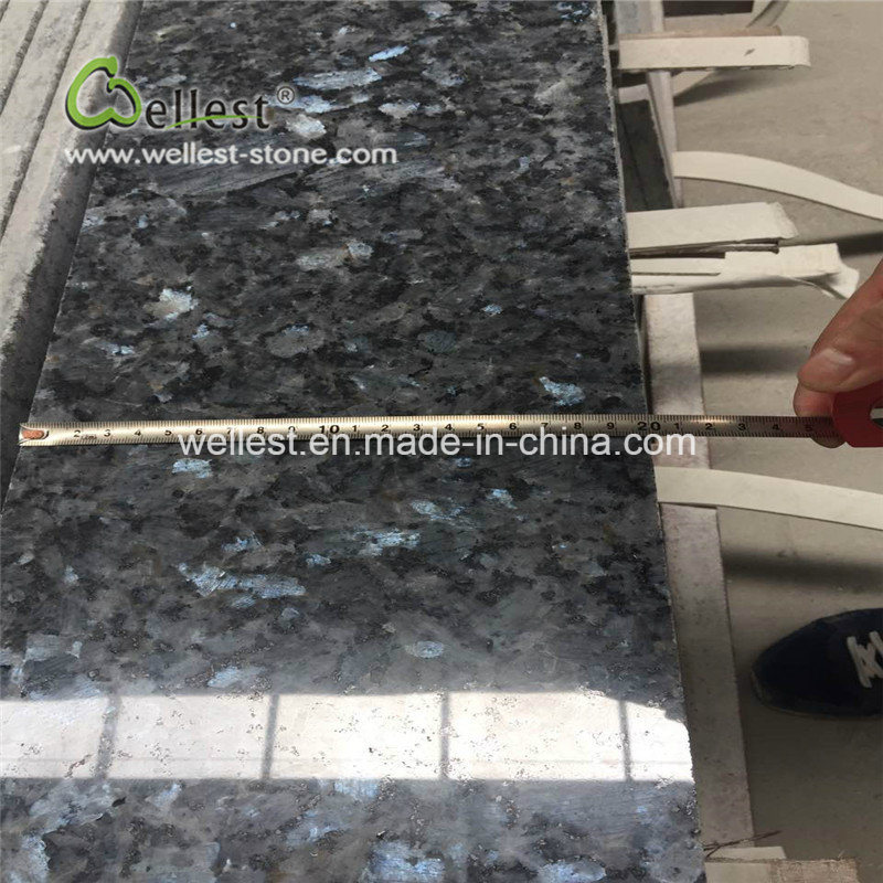 High Quality Polished Finish Blue Pearl Granite Tile Wall Cladding pictures & photos