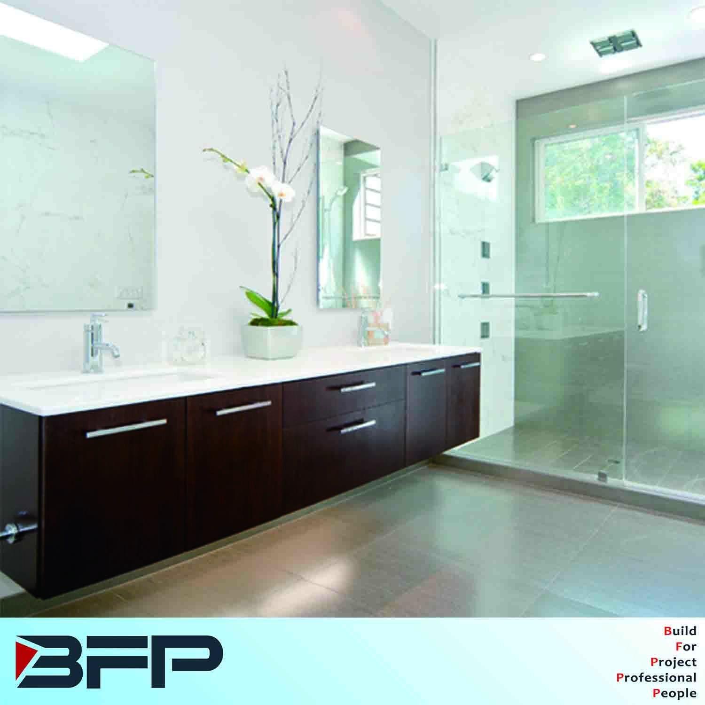 High Quality Mdf Laminated Bathroom Vanity Wall Mounted