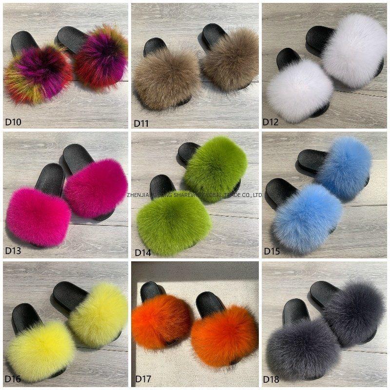 Baby Fur Slides Fur Sliders