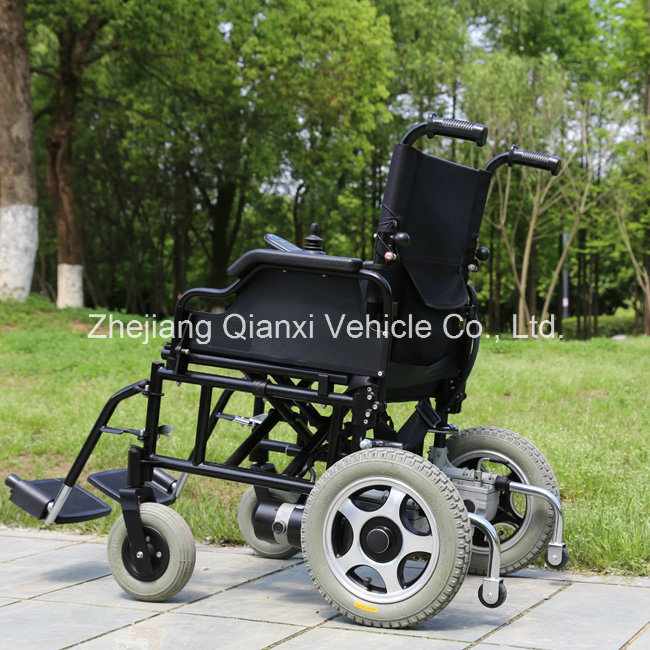 Portable Foldable Electric Wheelchair for Disabled with Ce pictures & photos