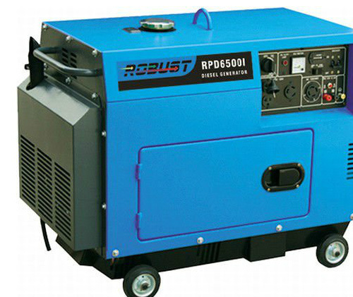 small portable diesel generator. Portable Small Wheels Silent Diesel Generator Set Sound Proof Genset E