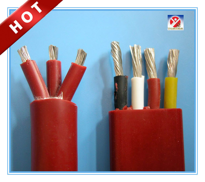 China Flexible Silicone Rubber Insulated Lead Cable for Winding of ...