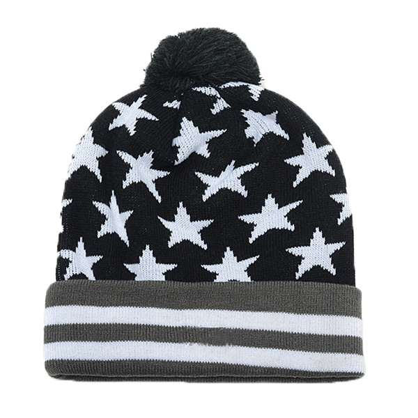 Wholesale Winter Jacquard Beanie Hat