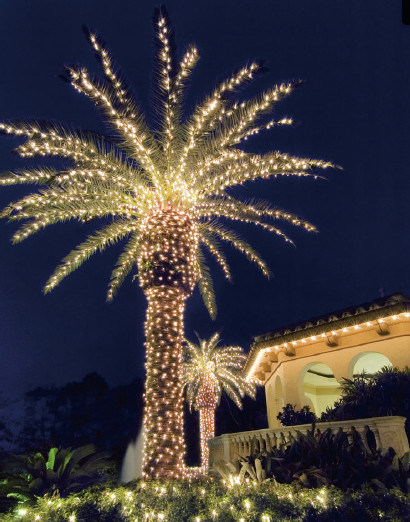 Led Coconut Palm Tree Light For Beach Decoration