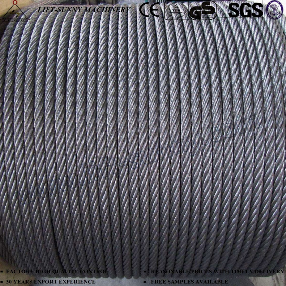 China Steel Strand and Steel Core Galvanized Steel Wire Rope - China ...