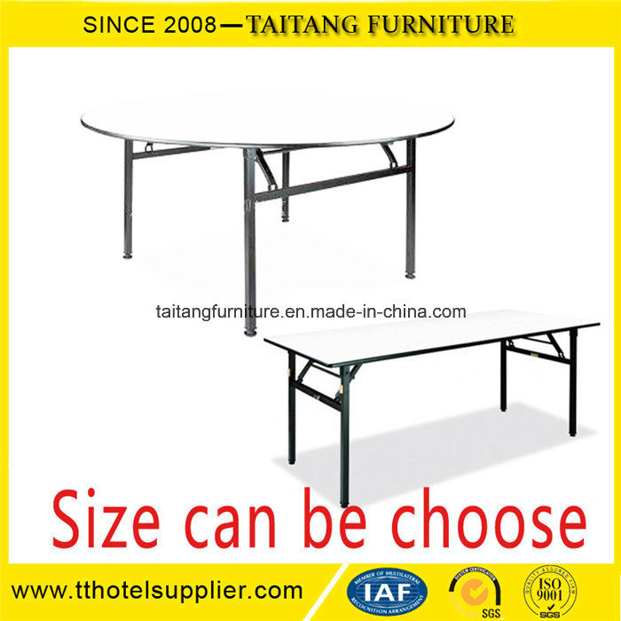 Restaurant Used Round Banquet Tables and Chairs for Sale pictures & photos
