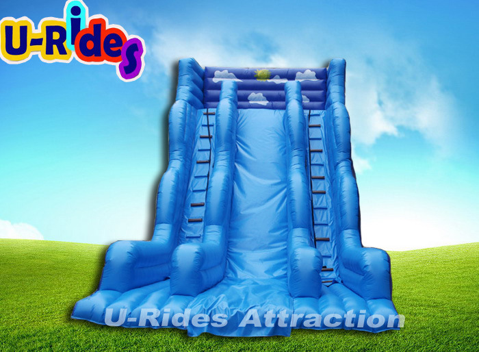 OEM Giant deep commercial inflatable water slide inflatable slide for event