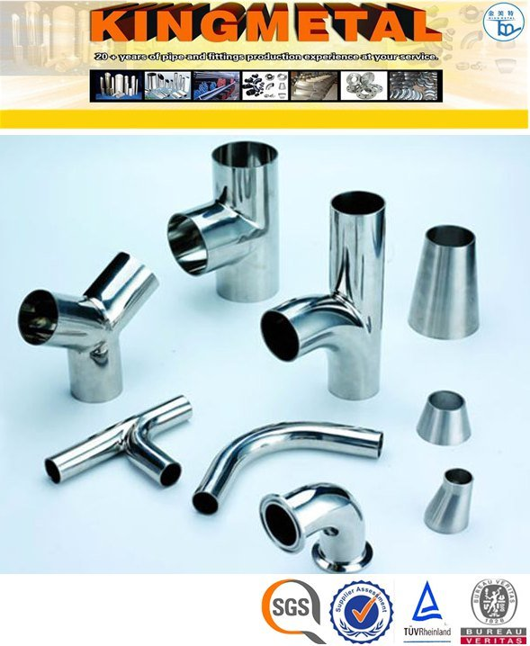 ASTM A403 Wp304 Stainless Steel Food Grade Sanitary Fittings Price pictures & photos