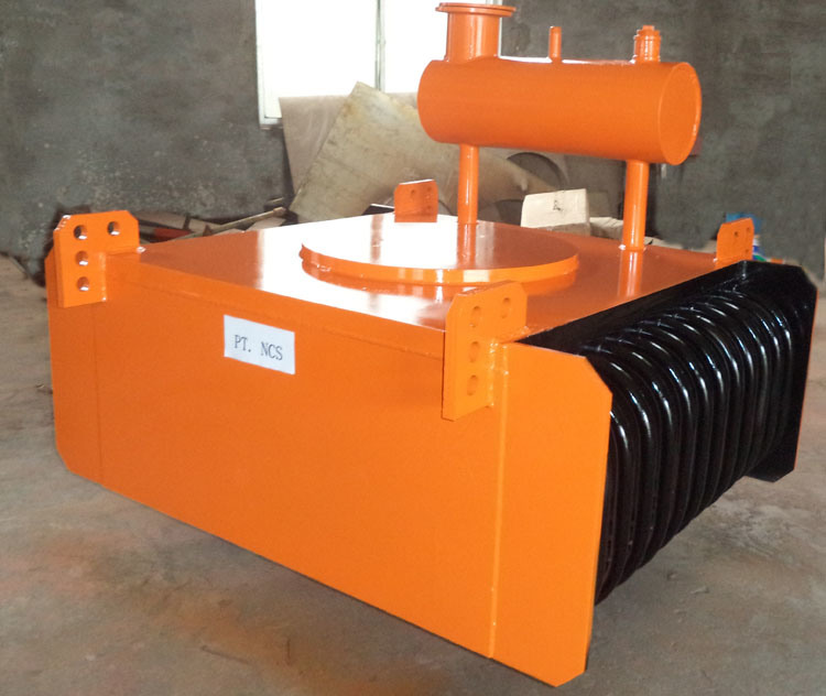 Rcde Oil-Cooling Electromagnetic Tramp Iron Separator for Belt Conveyor pictures & photos