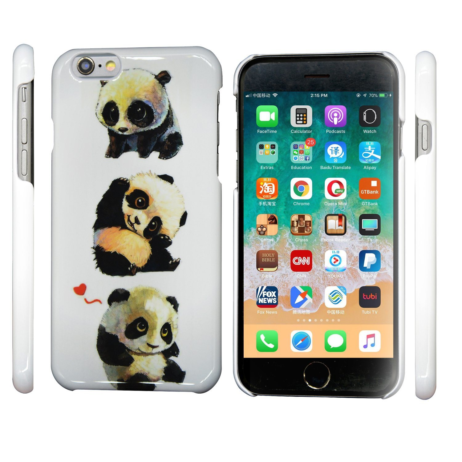 [Hot Item] Lovely Baby Bear Printing Pattern Cellular Mobile/Cell Phone  Case for iPhone (6/7/8/6s/8s/X Plus/Xs Max/Xr/Xs/8plus)