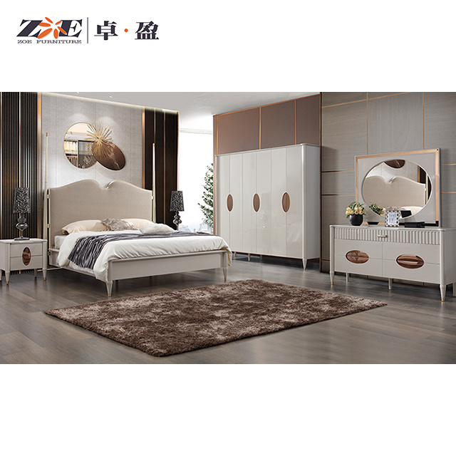China Home Furniture Bedroom Furniture Sets Luxury New Italian Style King Size Bedroom Set China Luxury Bedroom House Furniture
