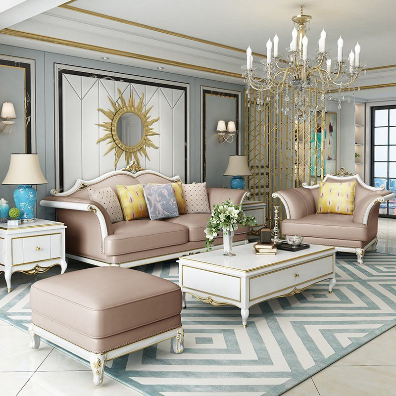 Classic Leather Sofa Chairs, Sofa Dining Room Set