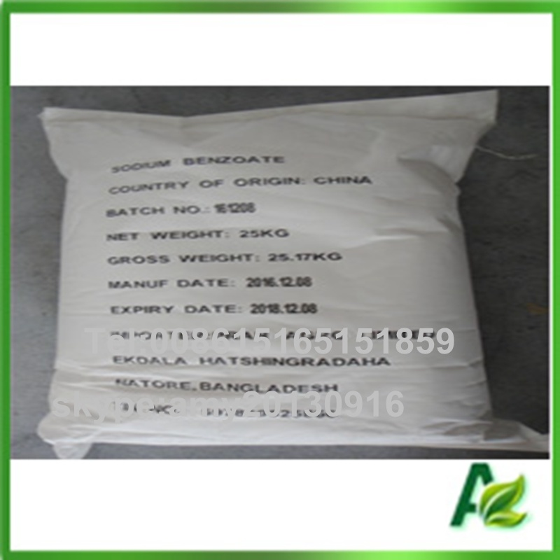 Sodium Benzoate Bp98 USP for Food Preservatives in China pictures & photos