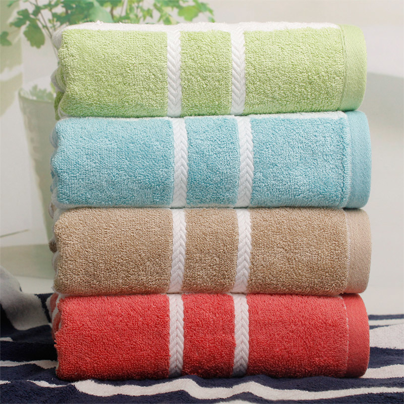 100% Cotton Soft Y/D Stripe Bath Towel Beach Towel pictures & photos