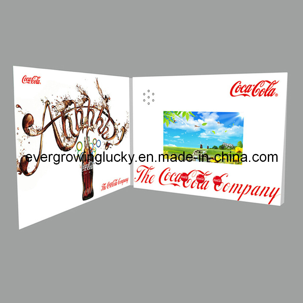 China Video Greeting Cards For Christmas China Video Greeting Card