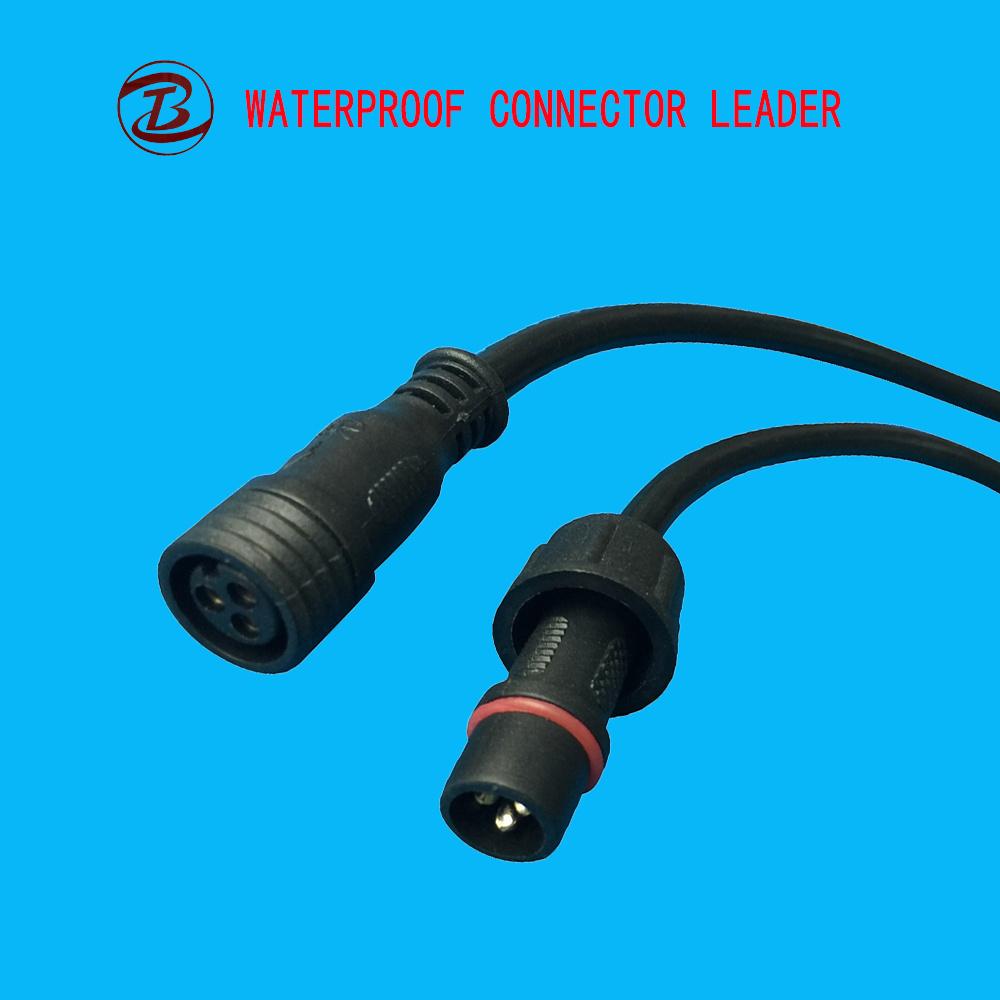 China LED Rope Light 13mm 3 Pin Connector - China 3pin Connector ...