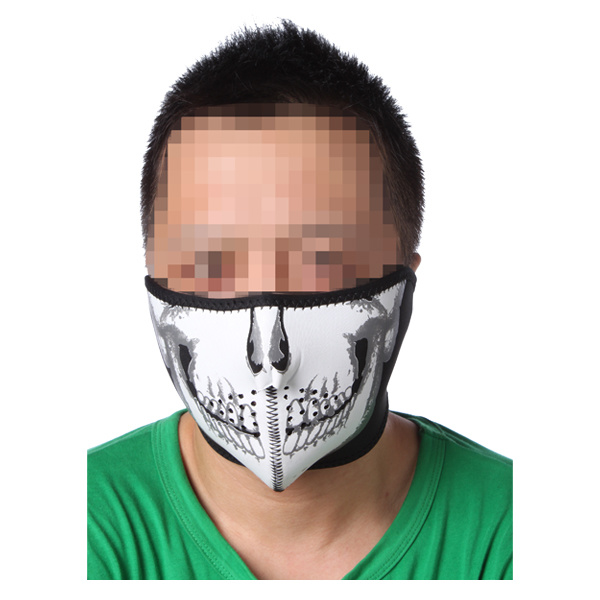China Navy Seal Army Skull Neoprene Half Face Protector