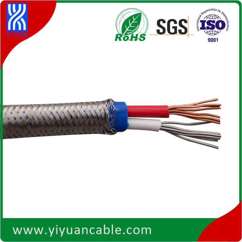 China Japanese Standard K Type Thermocouple Cable (PVC/PVC/SS braid ...