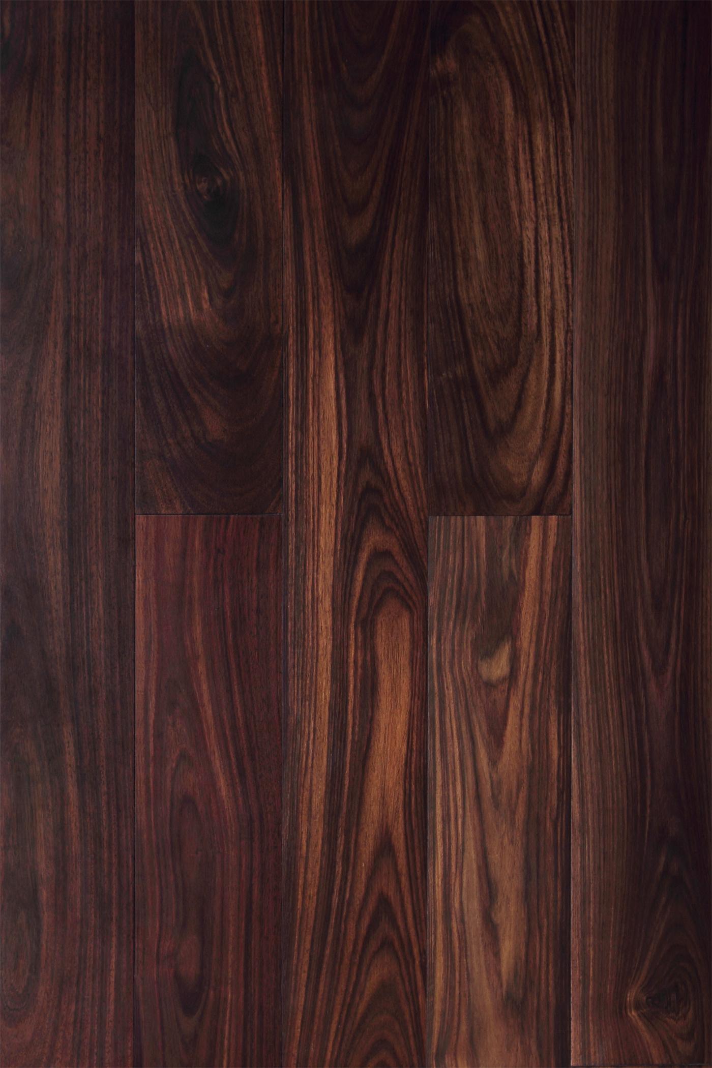 China Indonesia Rosewood Handscraped Hardwood Solid