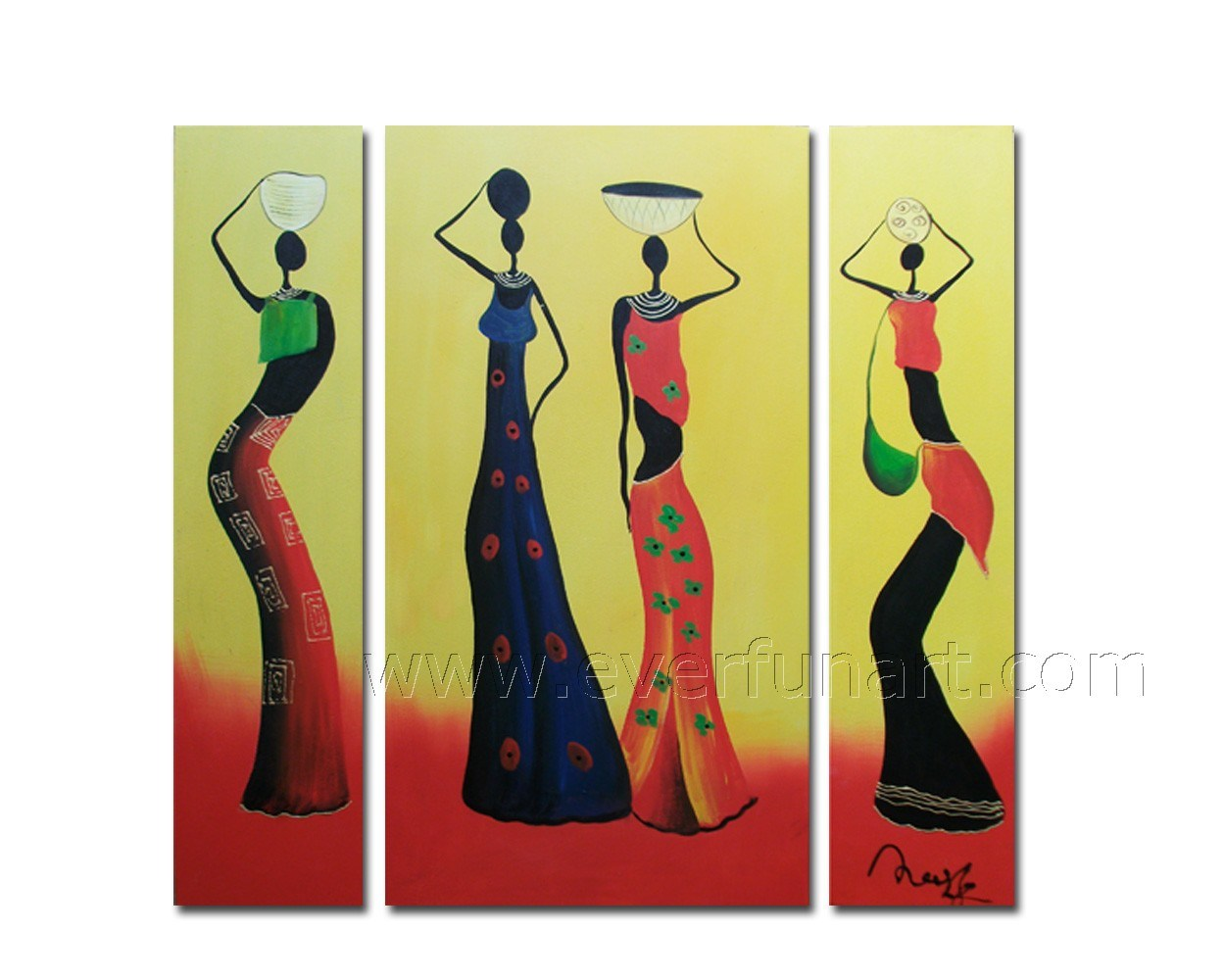 China Modern Abstract Human Figure Oil Painting - China ...
