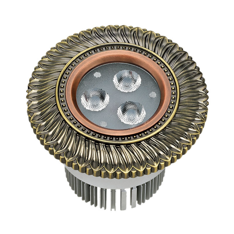 High Quality Brass COB 10W LED Spotlight and Downlight