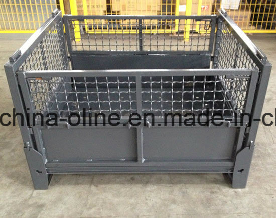 Steel Top Open Wire Mesh Basket pictures & photos