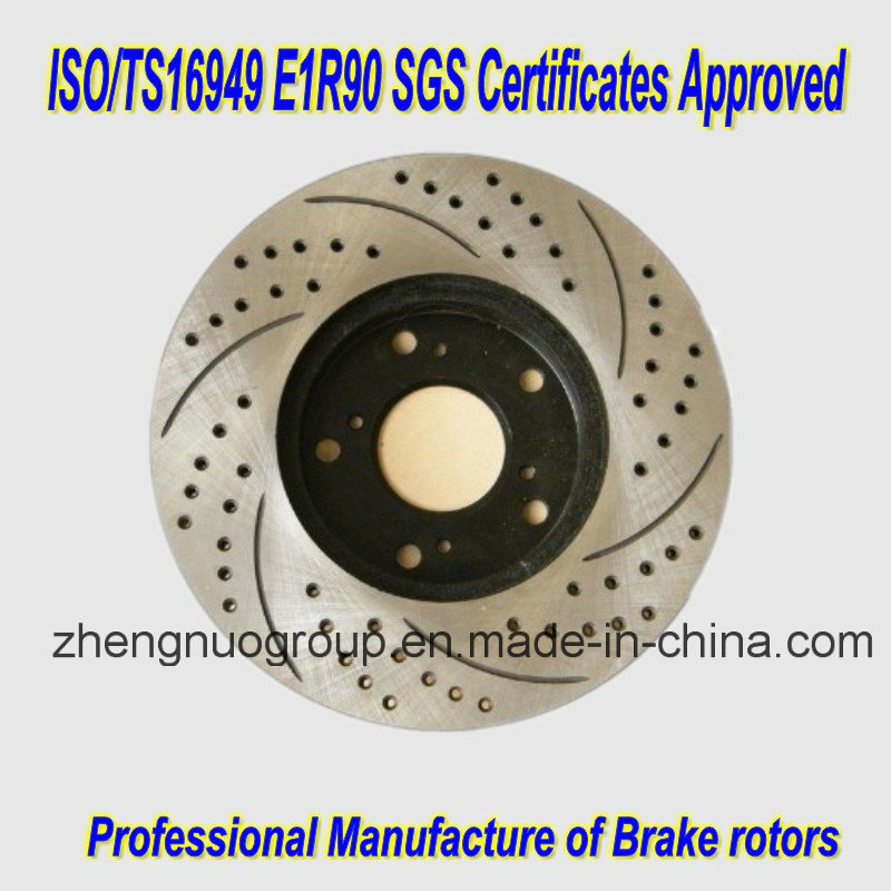 Ts16949 Certification Approved Brake Rotors pictures & photos