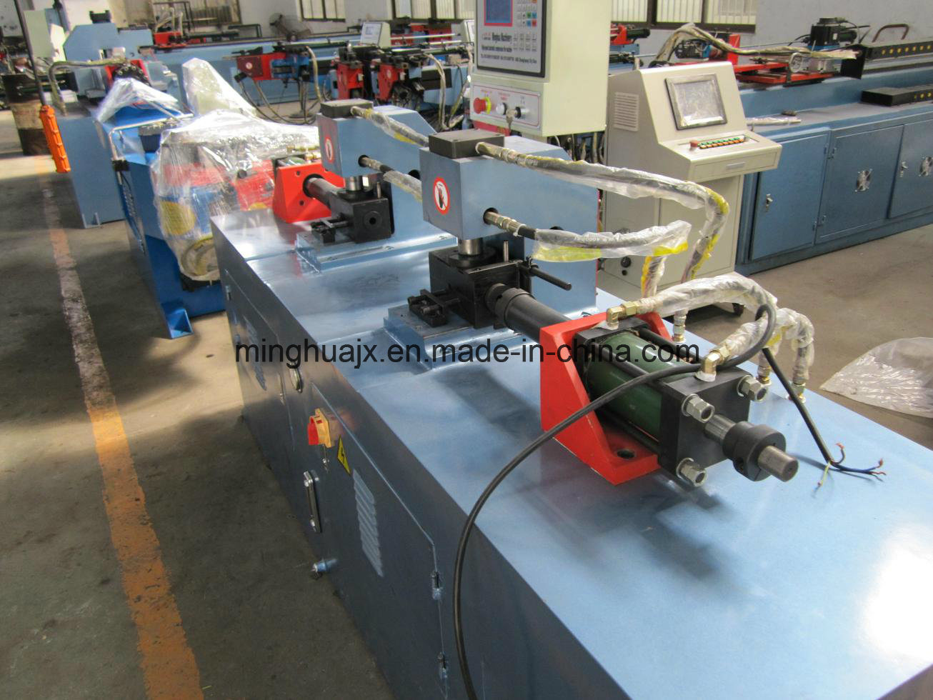High Quality Pipe Forming Machine Double Head TM80X2h-3s