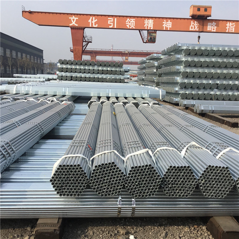China ASTM A53 A106 A500 Gr  B Galvanized Steel Pipe Schedule 40