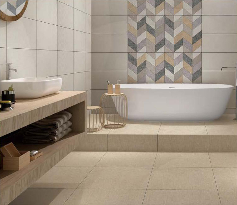 China New Decoration Rustic Wall And, Floor Tile For Bathroom