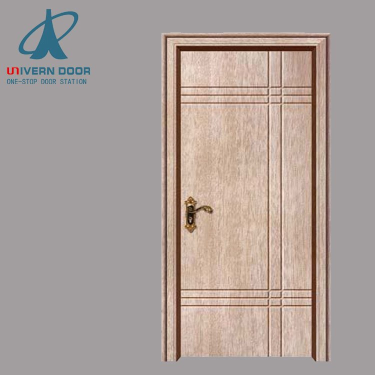 China Used Sliding Glass Veneer Teak Wood Polish Doors Skin For Sale