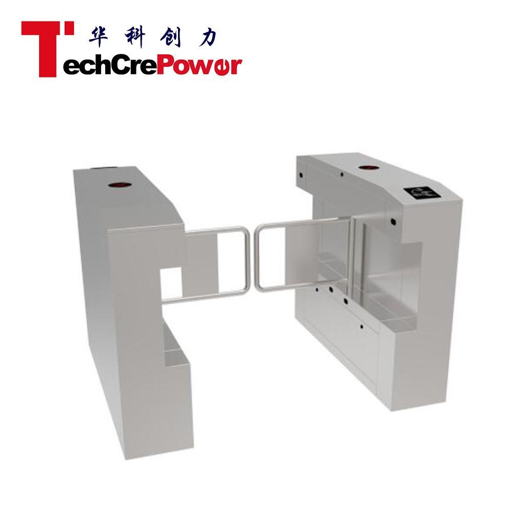 E343 Swing Gate Wide Pathway for Pubic Security Verifiable 304 Stainless Steel pictures & photos