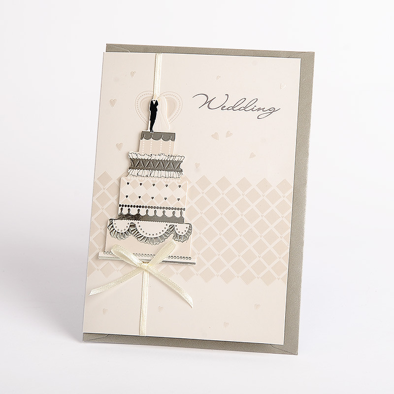 China Deluxe Latest 3d Handmade Wedding Invitation Card Designs