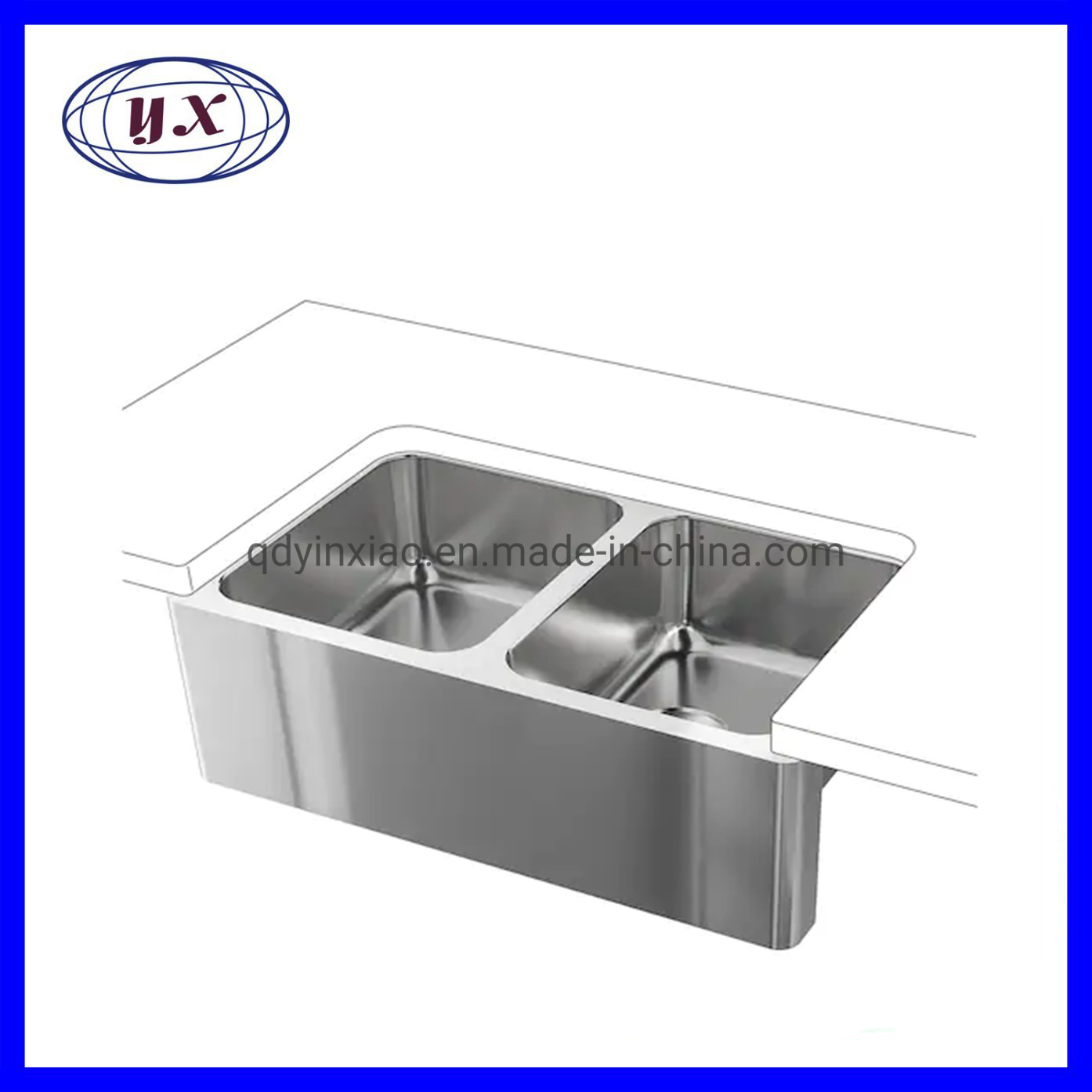 China Handmade Stainless Steel Kitchen Sink Glass Sink China Stamping Parts Machine Parts