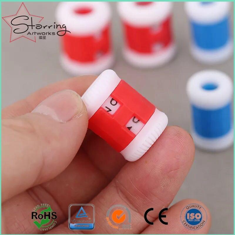 China Economic Novelty 2 Size Plastic Round Knitting Stitch Counter