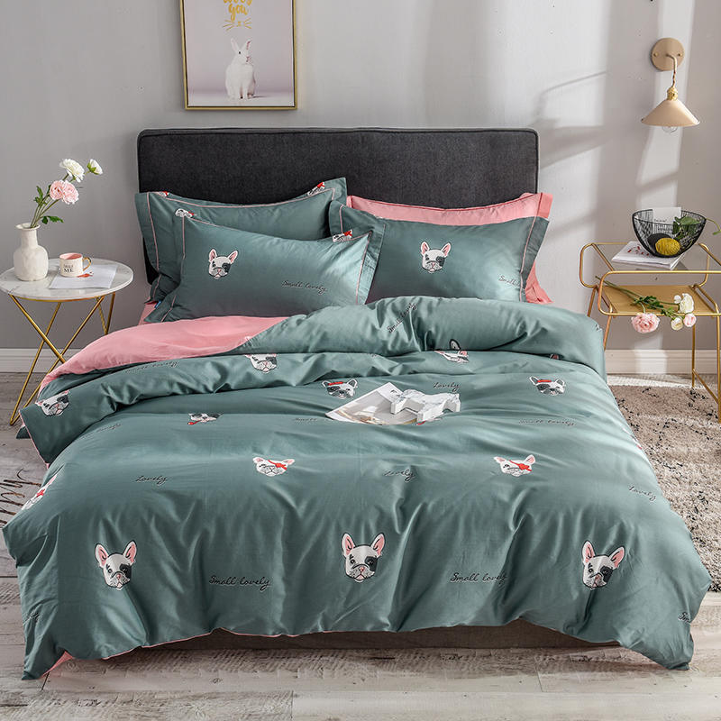 China Luxury 300tc Egyptian Cotton Bed Sheet Set Bedding Queen