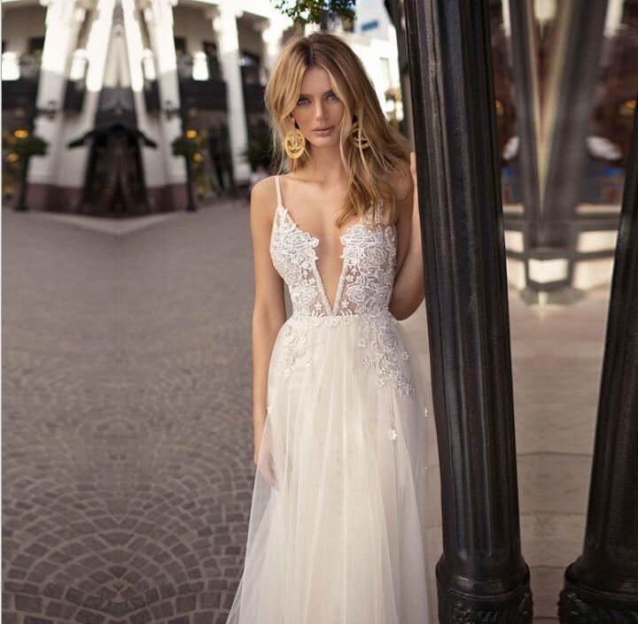 new arrival newest separation shoes [Hot Item] Luxury Summer Diamond Sequins Fantasy Lady Dress European  Wedding Dress