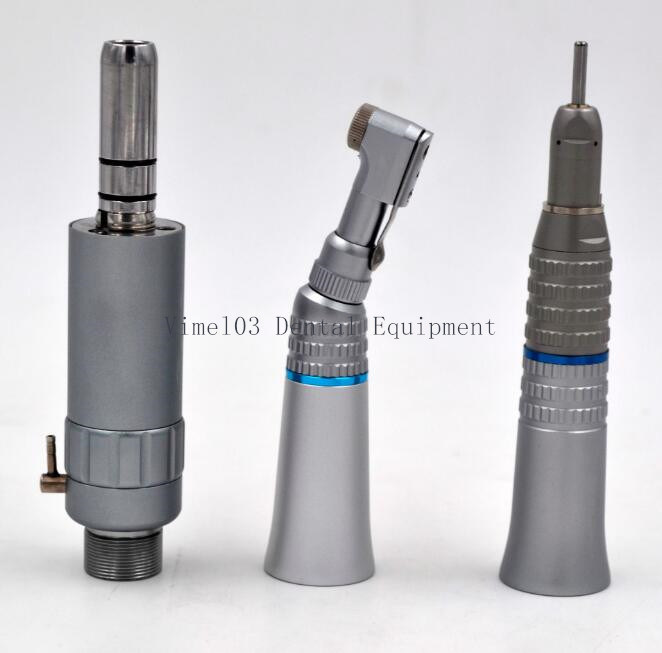 Dental Low Speed Handpiece Contra Angle with Air Motor Kit pictures & photos