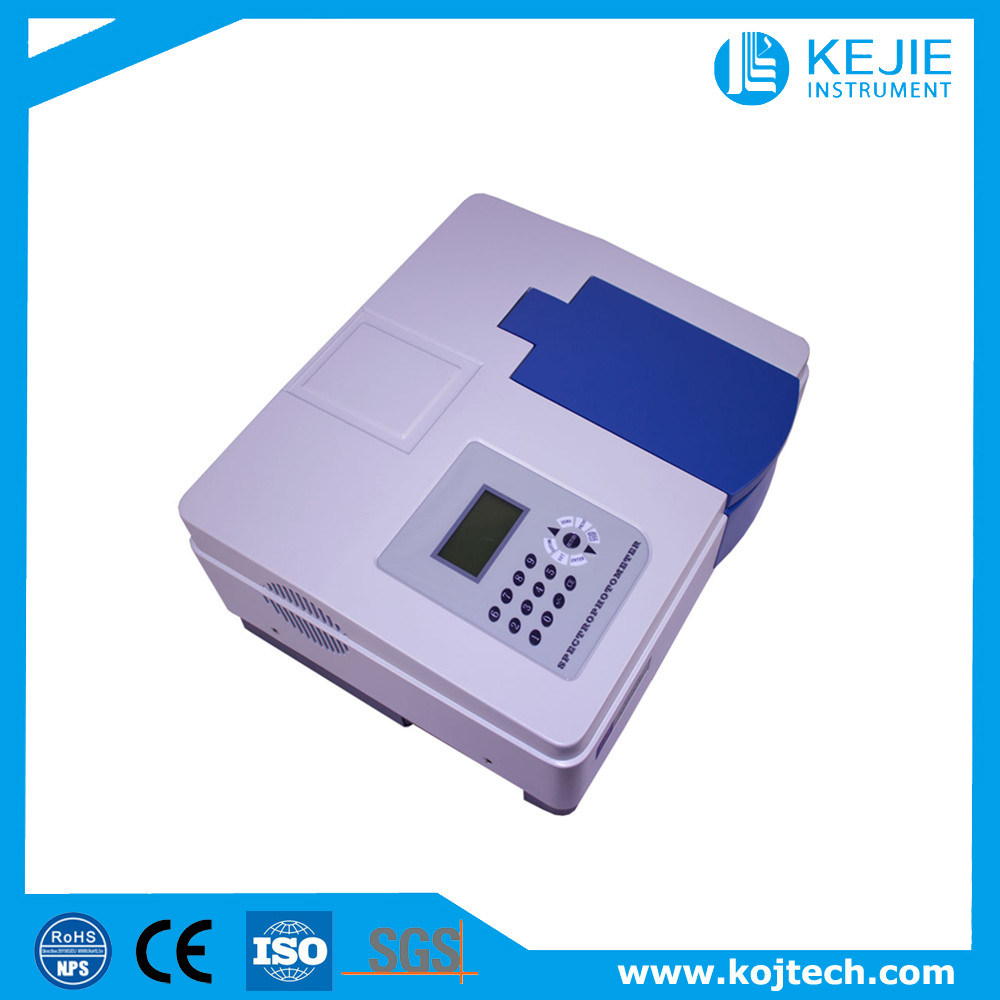 Lab Analyzer/UV Visible Spectrophotometer/Double Beam for Surface Water pictures & photos