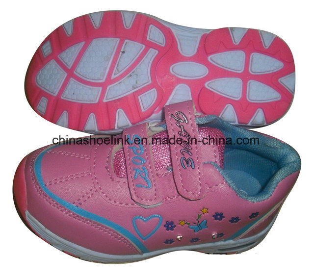 Popular Outdoor Kids Shoe with LED Light pictures & photos