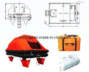 [Hot Item] ISO 9650 Regulation Valise Pack Yacht Life Raft
