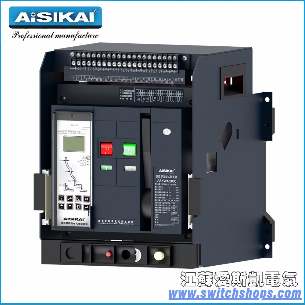 China Gtw1-3200-3p/4p Intelligent Universal Air Circuit