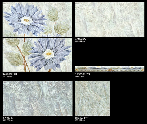 Building Material 300X600 Bathroom Glazed Ceramic Wall House Decor Tile pictures & photos