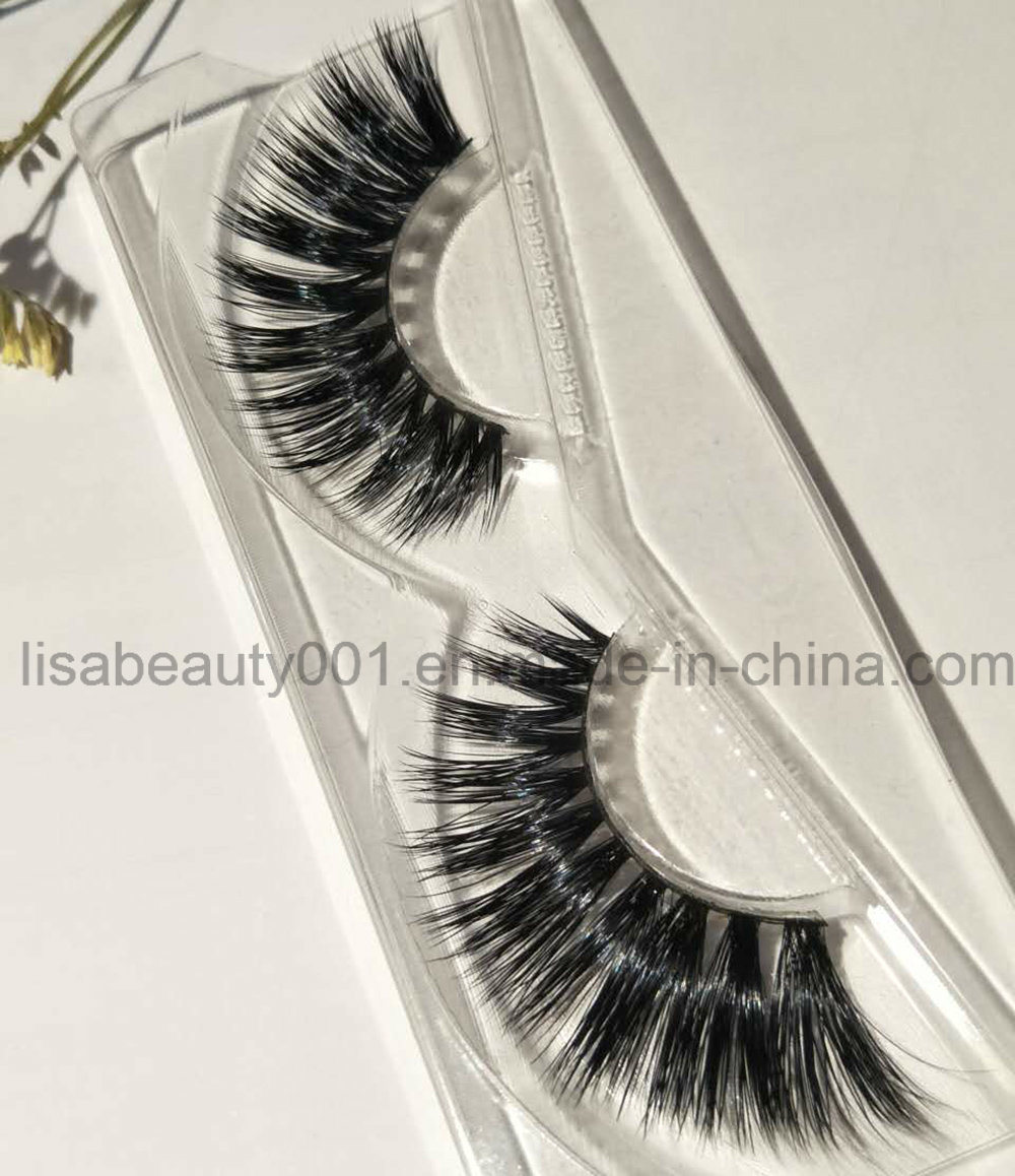 China Wholesale High Grade Mink Fur False Eyelashes Super Thick Long