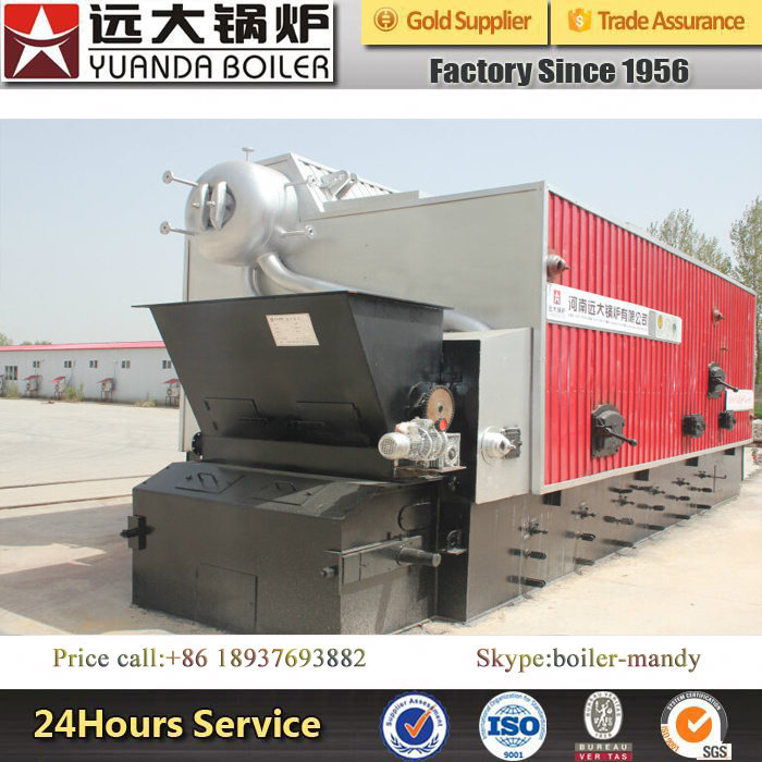 2ton China Professional New Wood Pellet Husk Sawdust Palm Oil Shell Biomass Fired Horizontal Steam Boiler pictures & photos