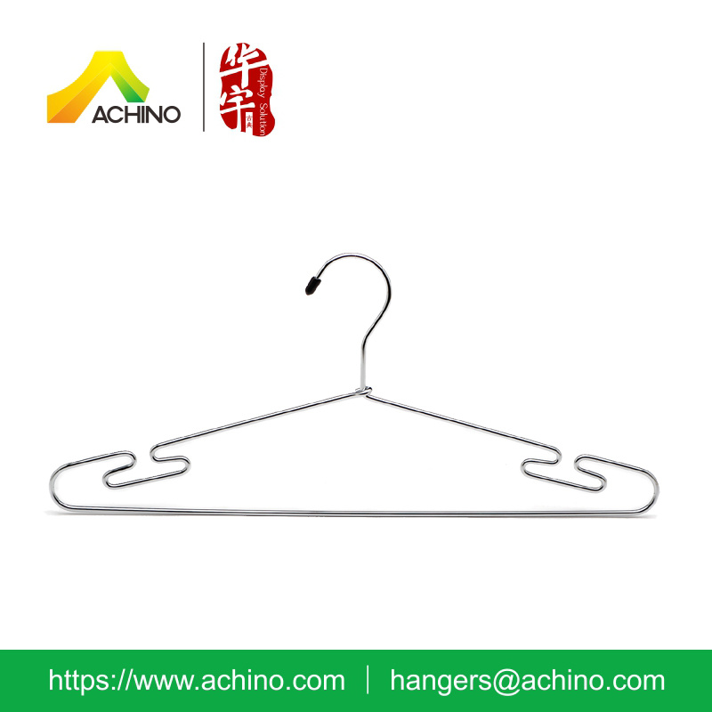Space Saving Metal Suit Hangers with Hook (MCSH100)