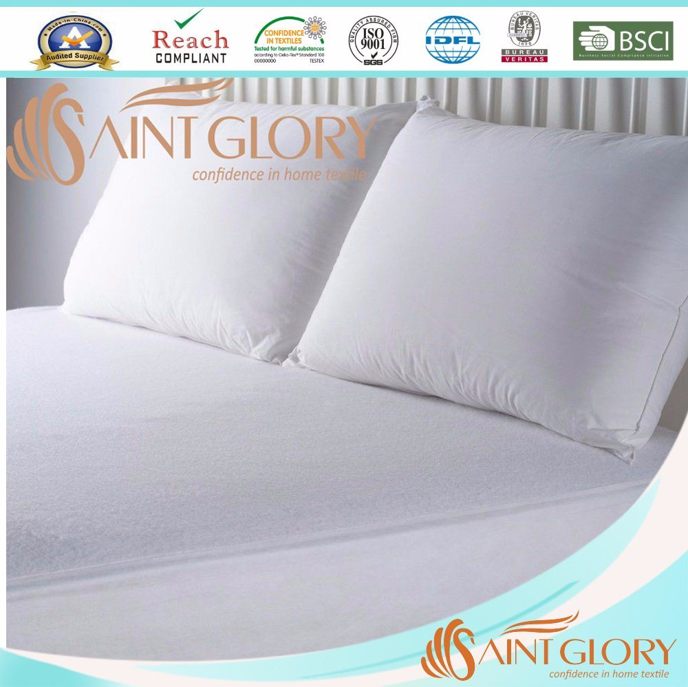 China Terry Cloth Fabric TPU Laminated Waterproof Mattress Protector ... 345be0986