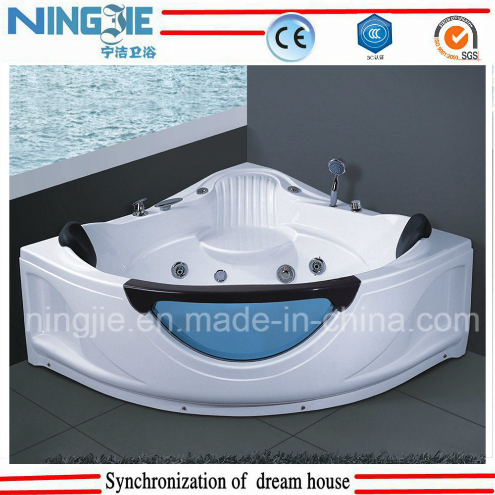 China Hot Tub Triangle Acrylict Bathroom Jacuzzi Massage Bathtub ...