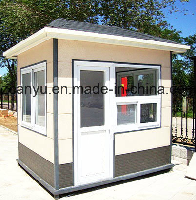 China Steel Sentry Box 1 Open Room Design Guard House for Sale