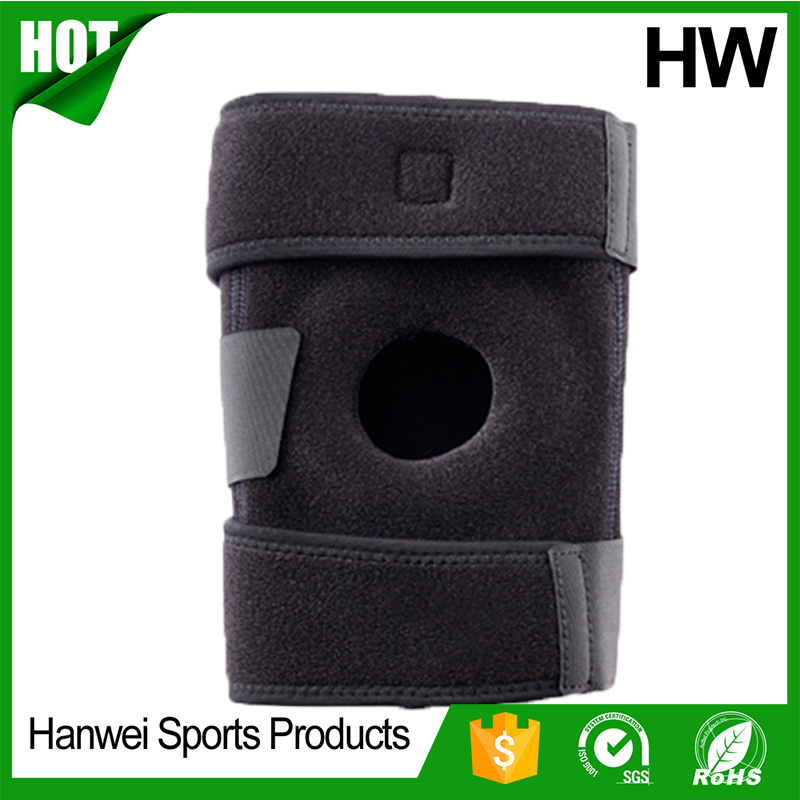 High Quality Black Orthopedic Custom Kneecap (HW-KS020)